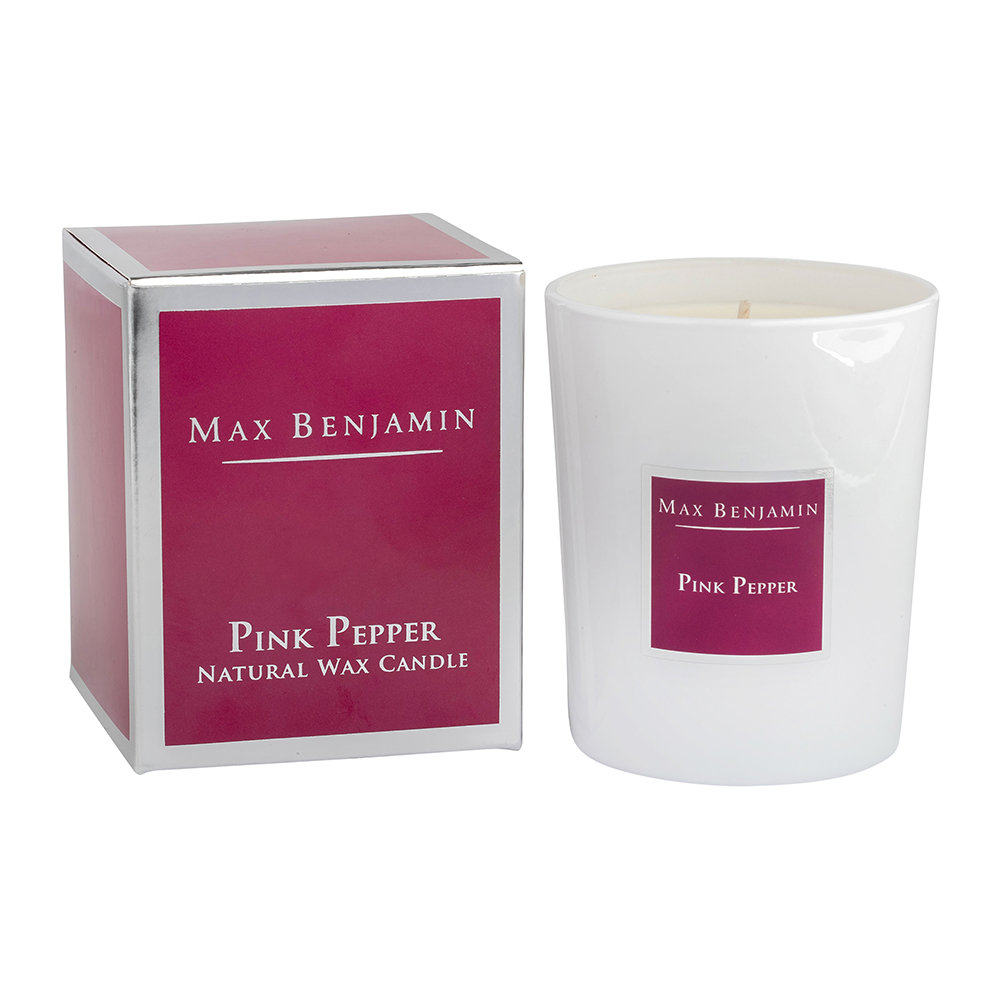 Max Benjamin - Classic Collection Scented Candle - 190g - Pink Pepper