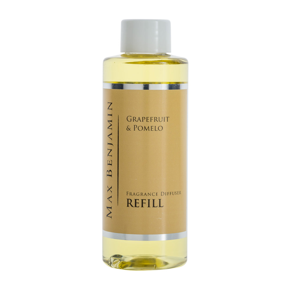 Max Benjamin - Classic Collection Reed Diffuser Refill - 150ml - Grapefruit & Pomelo