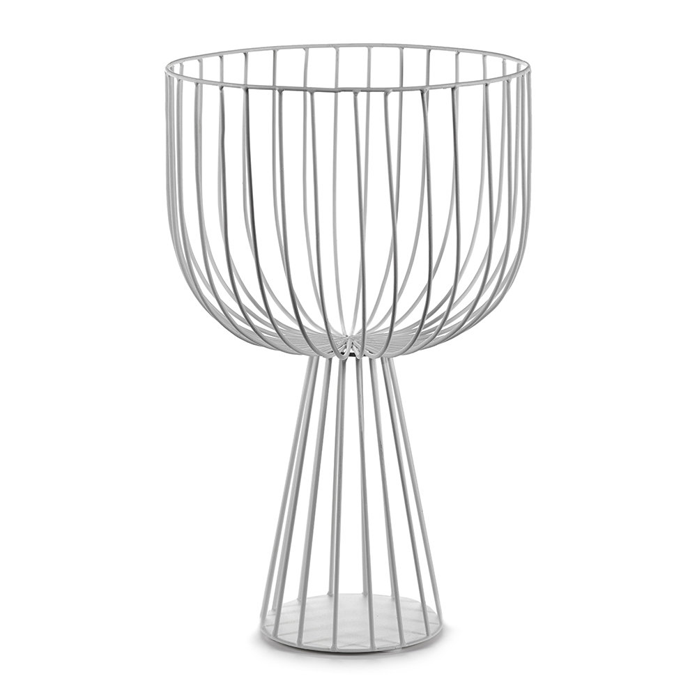 Serax - Catu Raise Wire Basket - White - 40cm