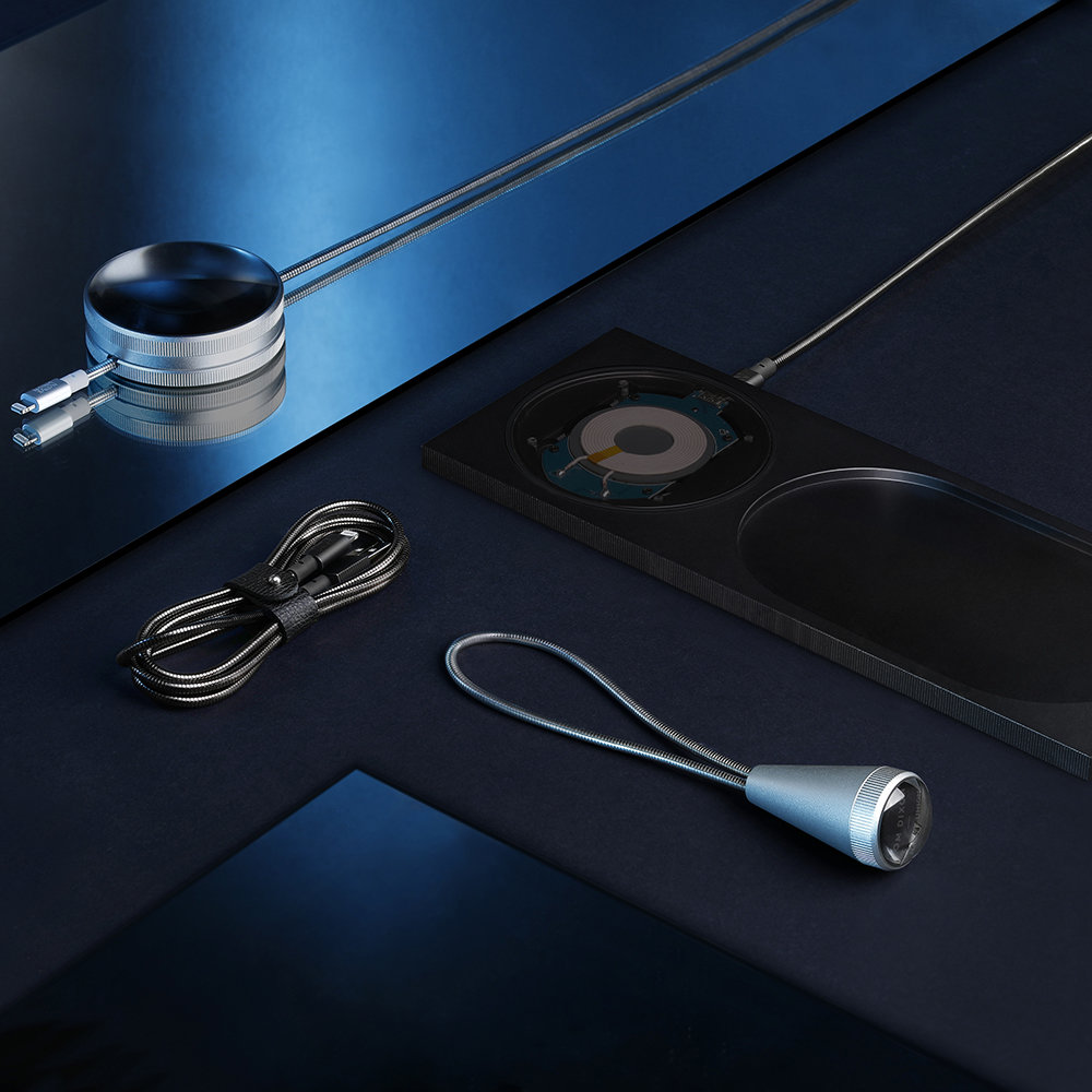 Native Union - Tom Dixon Limited Edition Block Wireless Station - Brushed Black