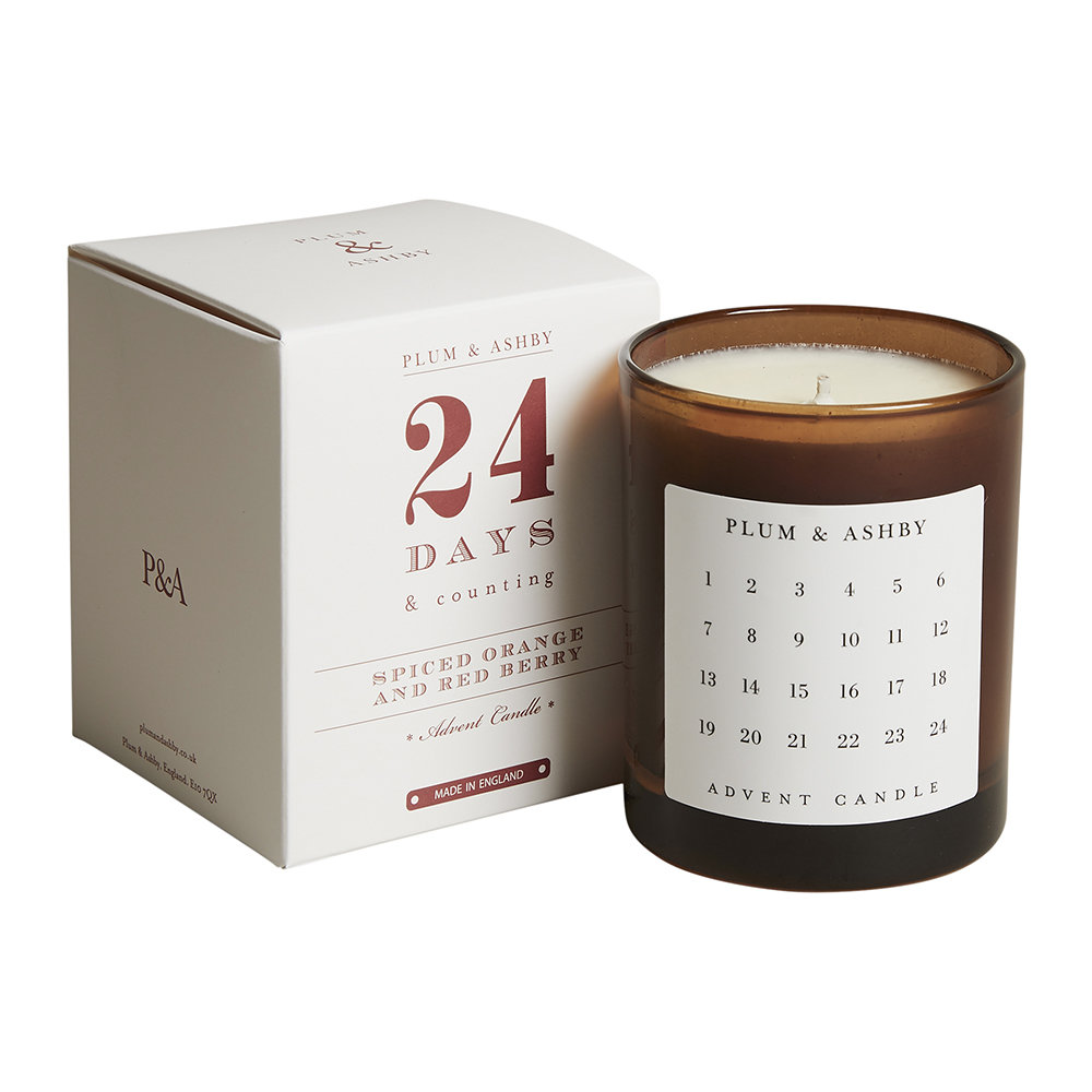 Plum  Ashby - Advent Candle