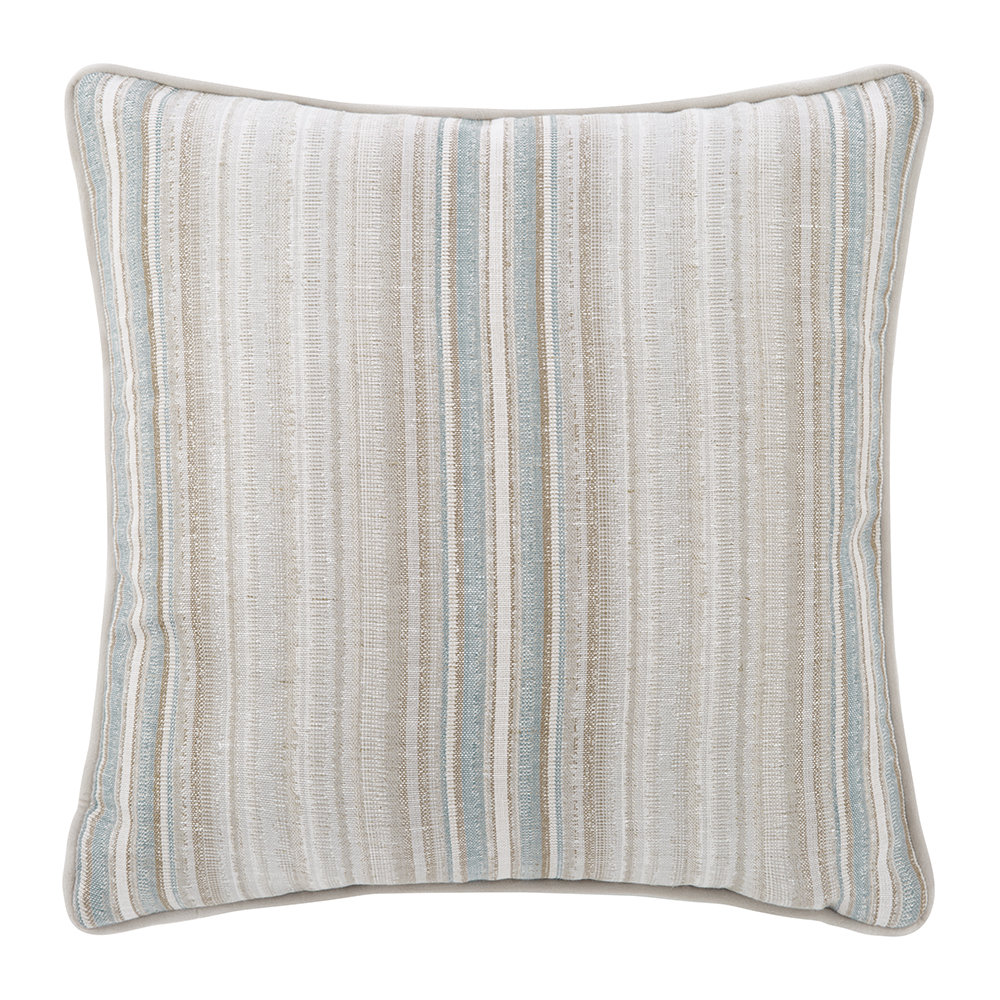 Mulberry Home - Claremont Cushion - 45x45cm - Soft Teal