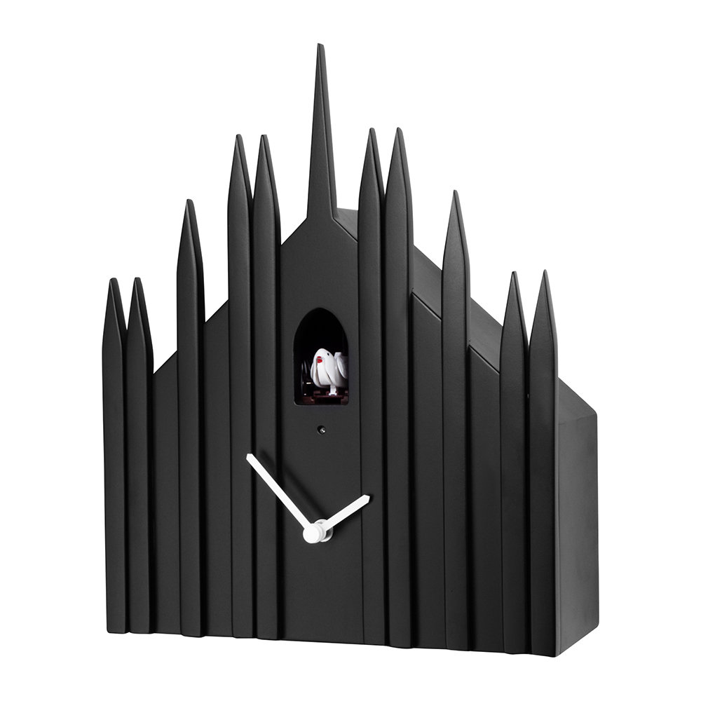 Diamantini  Domeniconi - Duomo Wall Clock - Black