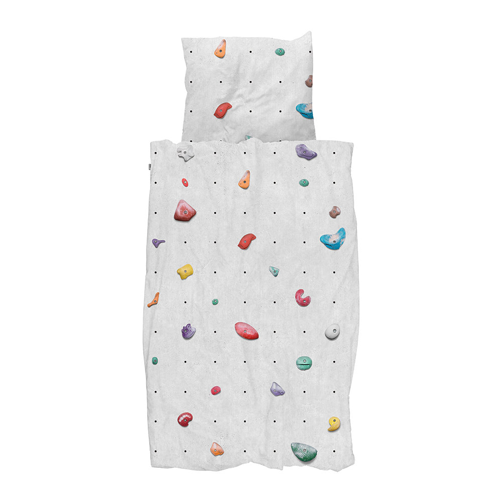 Snurk - Climbing Wall Duvet Set - Single