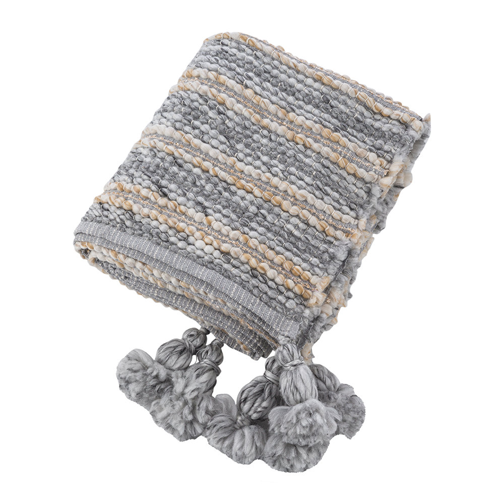 A by Amara - Chunky Knitted Throw - 130x170cm