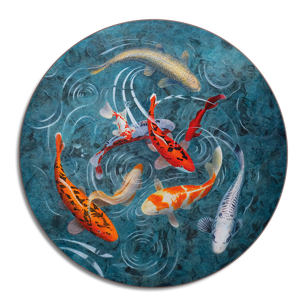 Avenida Home - Graham Banister - A Pond Of Koi Fish - Placemat