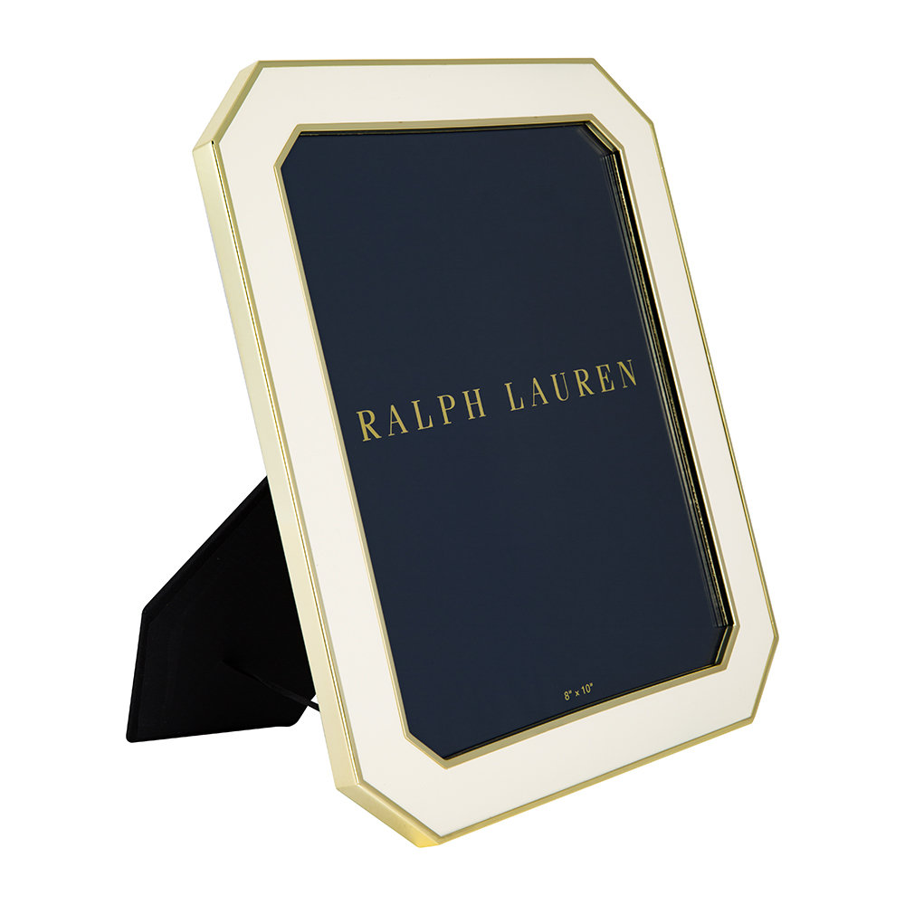 Ralph Lauren Home - Becker Frame - Cream/Brass - 8x10""