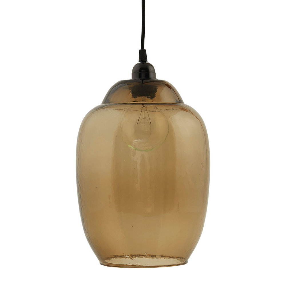House Doctor - Goal Ceiling Lamp Shade - Smoked Grey