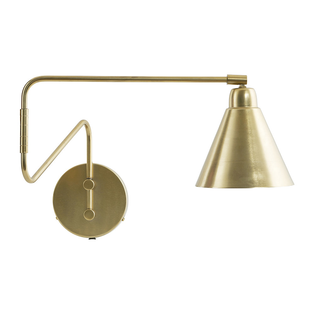 House Doctor Wall Lamp Game, Brass