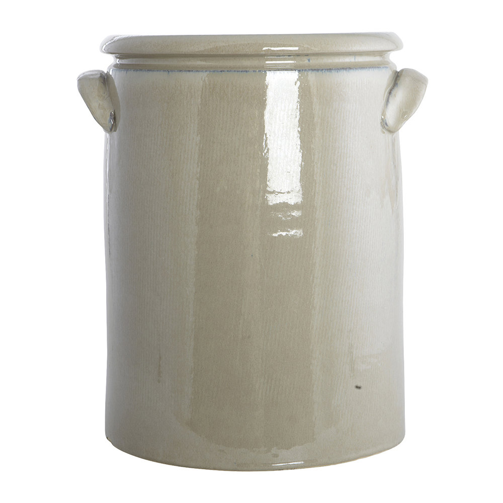 House Doctor - Pottery Planter - XL - Sand