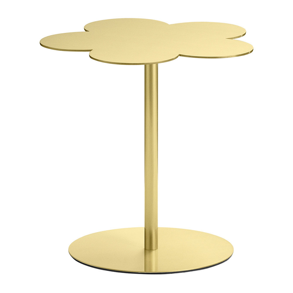 GHIDINI 1961 - Flowers Side Table - Brass