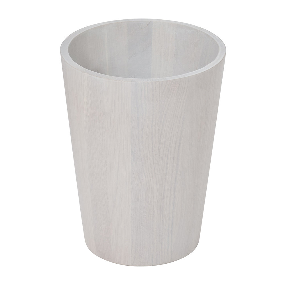 Wireworks - Waste Bin - Oyster Oak