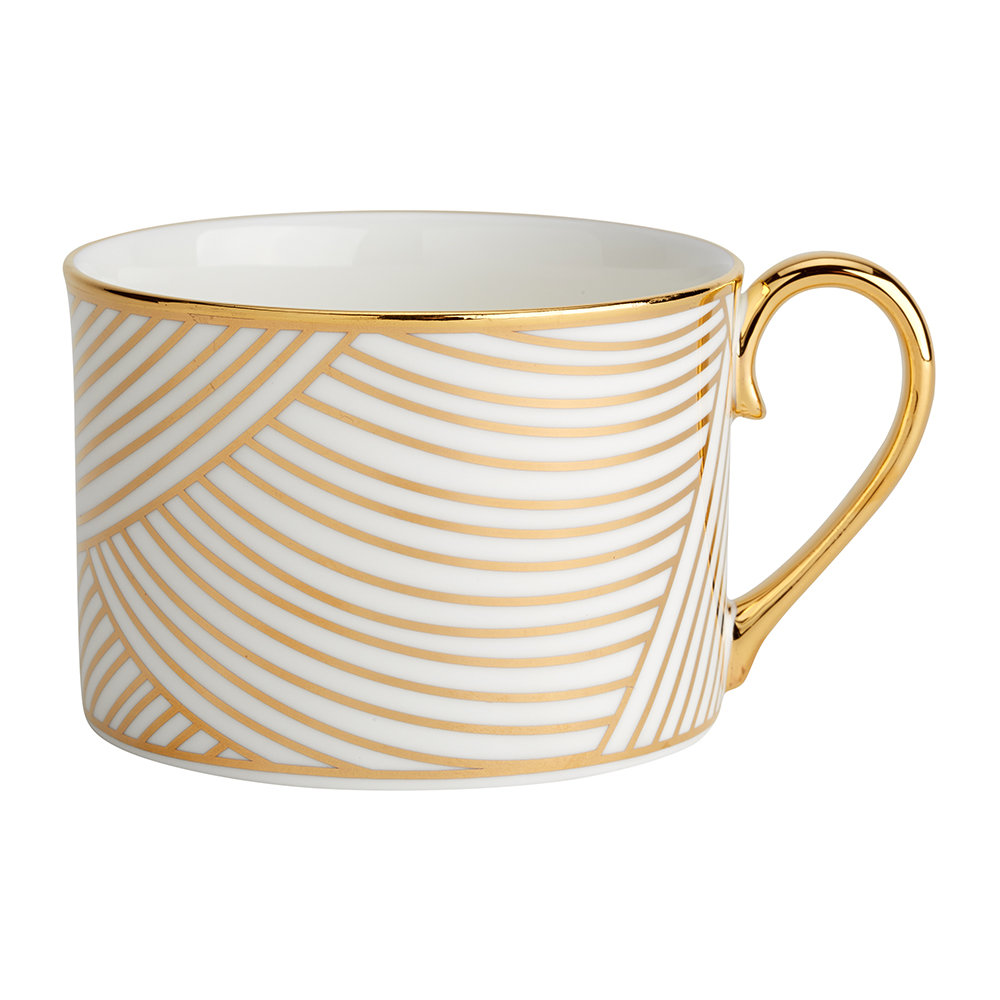 1882 Ltd - Lustre Gold Dhow Coffee Cup