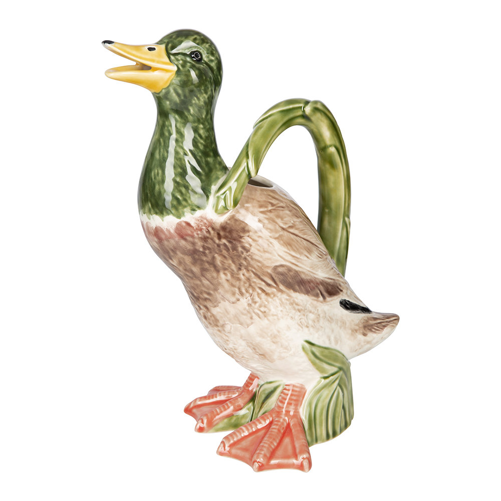 Bordallo Pinheiro - Duck Pitcher