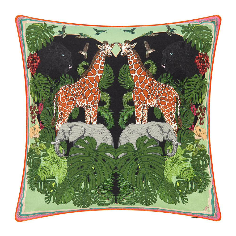 Silken Favours - Junglista Cushion