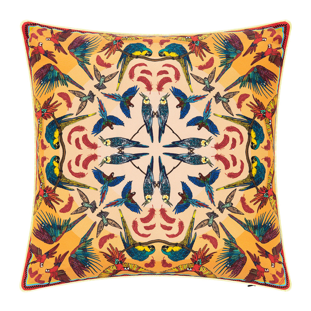 Silken Favours - Breakbeak Cushion