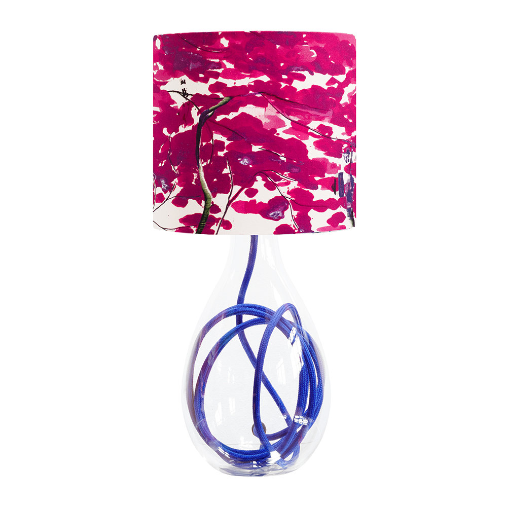 Anna Jacobs - Chinese Tree Lamp Shade - Pink/Violet - Small