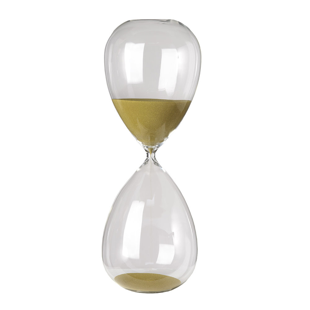Pols Potten - Hourglass Ball - Gold - 3 Hours - Extra Large