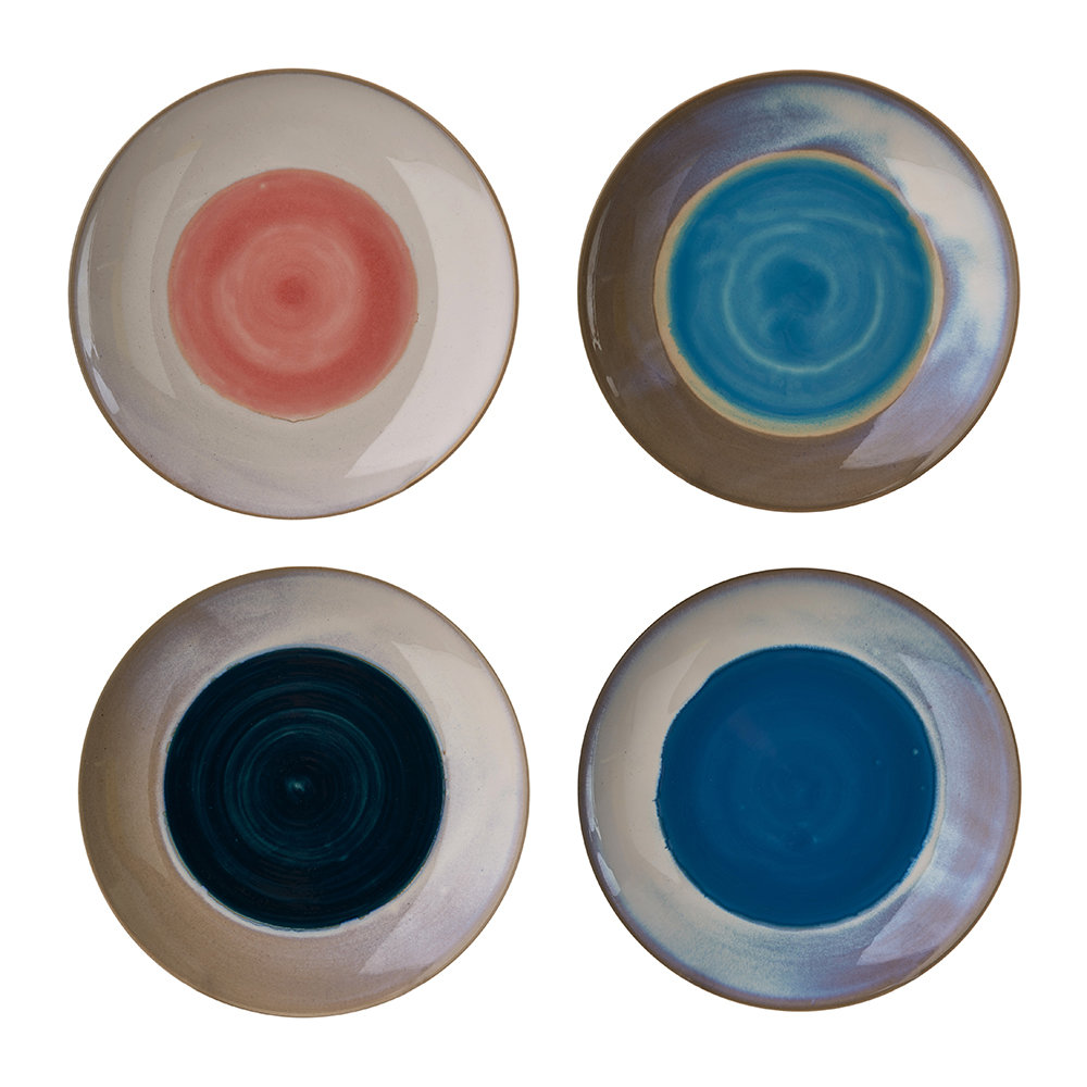 Pols Potten - Panorama Plates - Set of 4 - Dinner Plate
