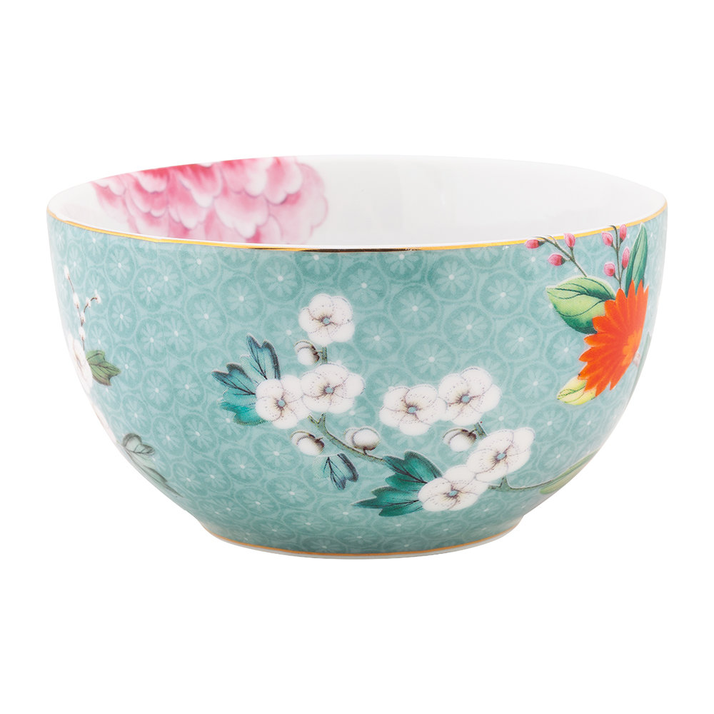Pip Studio - Blushing Birds Cereal Bowl - 12cm - Blue