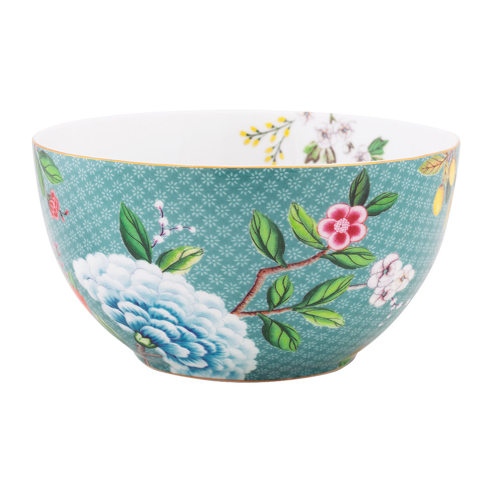 Pip Studio - Blushing Birds Cereal Bowl - 15cm - Blue