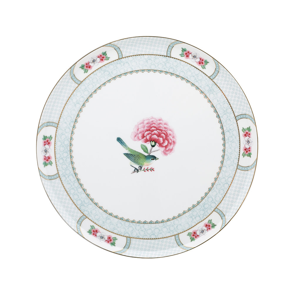 Pip Studio - Blushing Birds Cake Stand - White