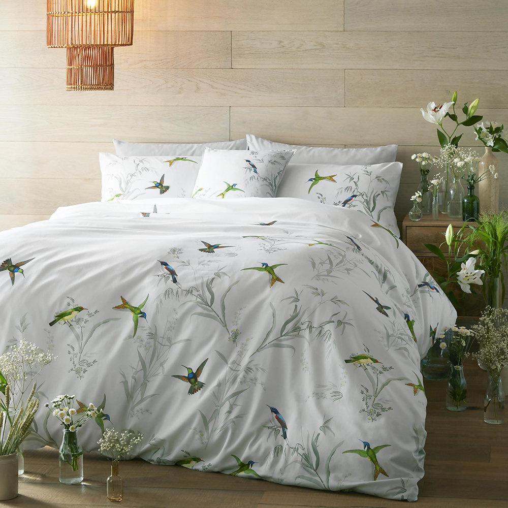 Ted Baker - Fortune Quilt Cover - Mint - King