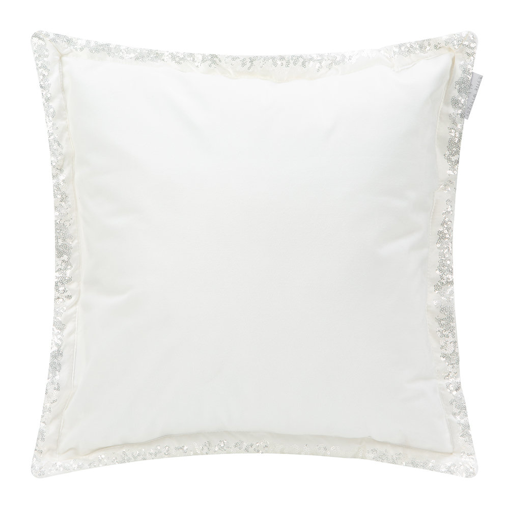 Kylie Minogue at Home - Bardot Bed Cushion - 45x45cm - Oyster