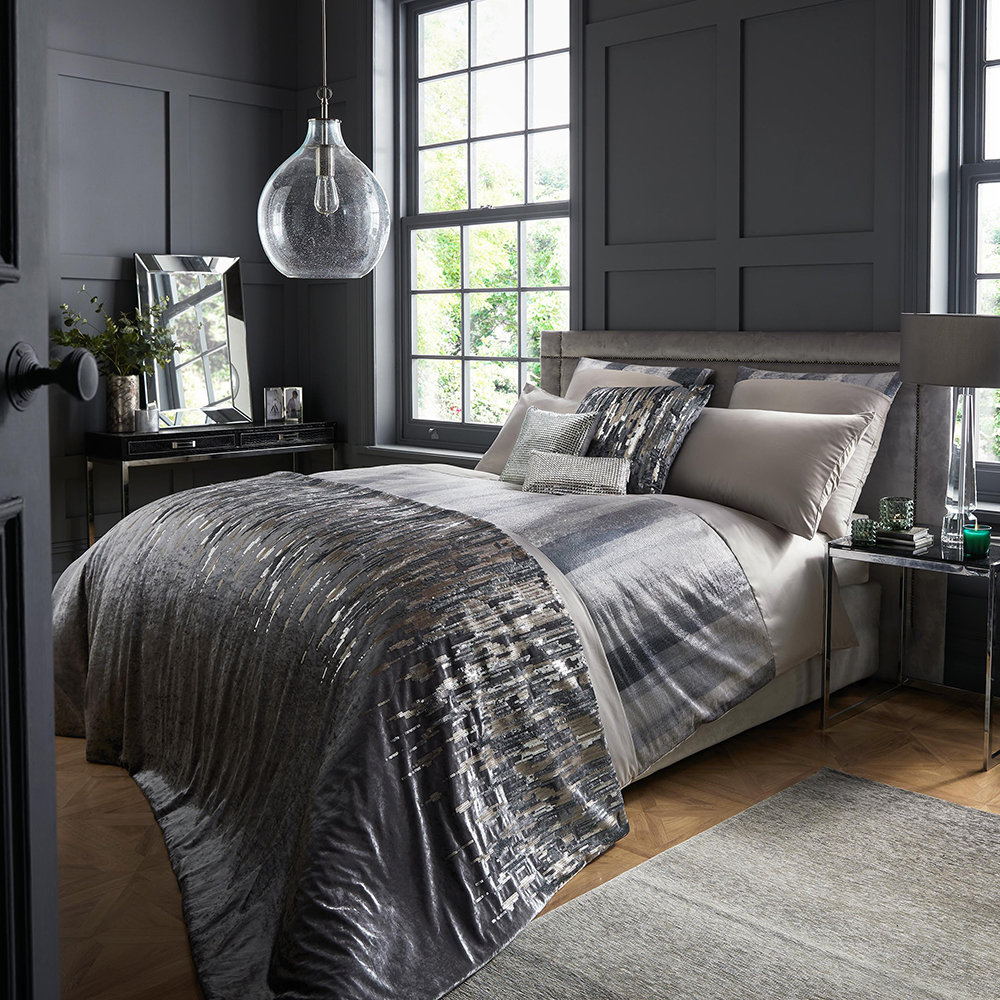 Kylie Minogue at Home - Vari Quilt Cover - Mineral - King