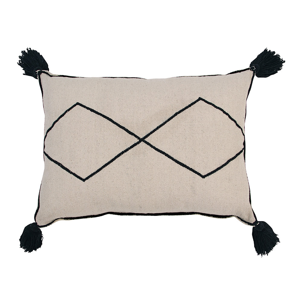 Lorena Canals - Bereber Washable Cushion - Natural - 55x40cm