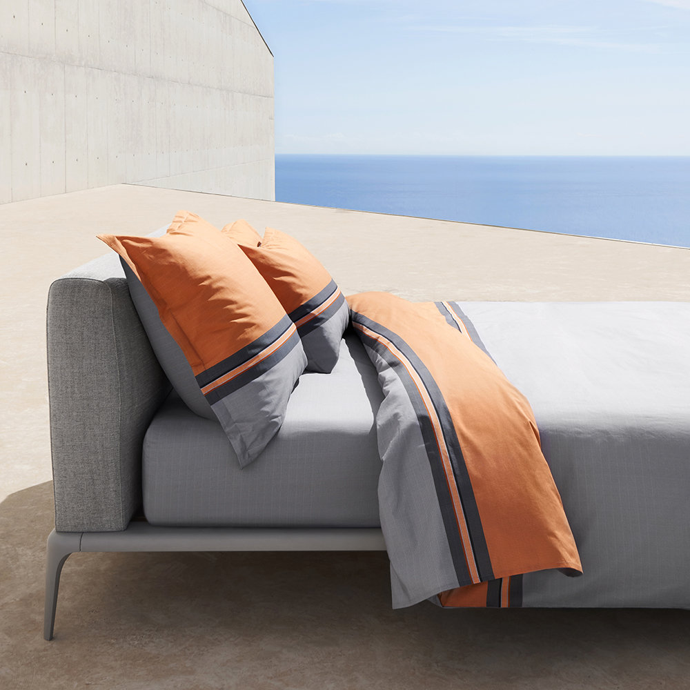 Hugo Boss - Paddy Duvet Cover - Orange - King