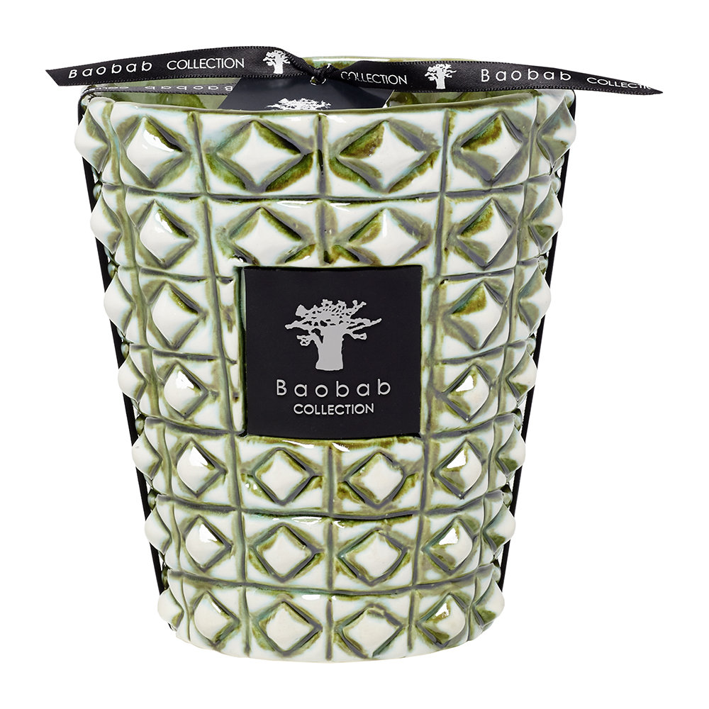 Baobab Collection - Ceramica Outdoor Scented Candle - Limited Edition - Verdor - 16cm