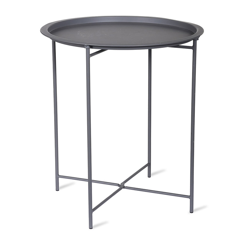 Garden Trading - Rive Droite Bistro Tray Table - Charcoal