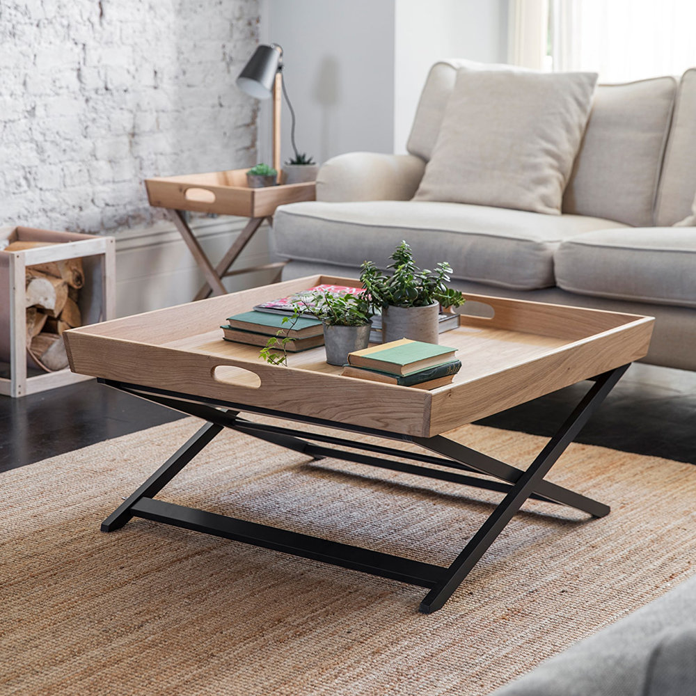 Garden Trading - Butlers Coffee Table - Carbon