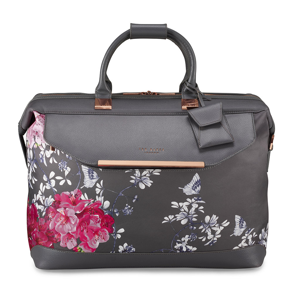 249529e8effc40 Buy Ted Baker Albany Softside Clipper Holdall - Small - Grey