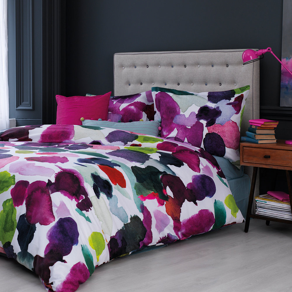 Bluebellgray - Abstract Duvet Set - King