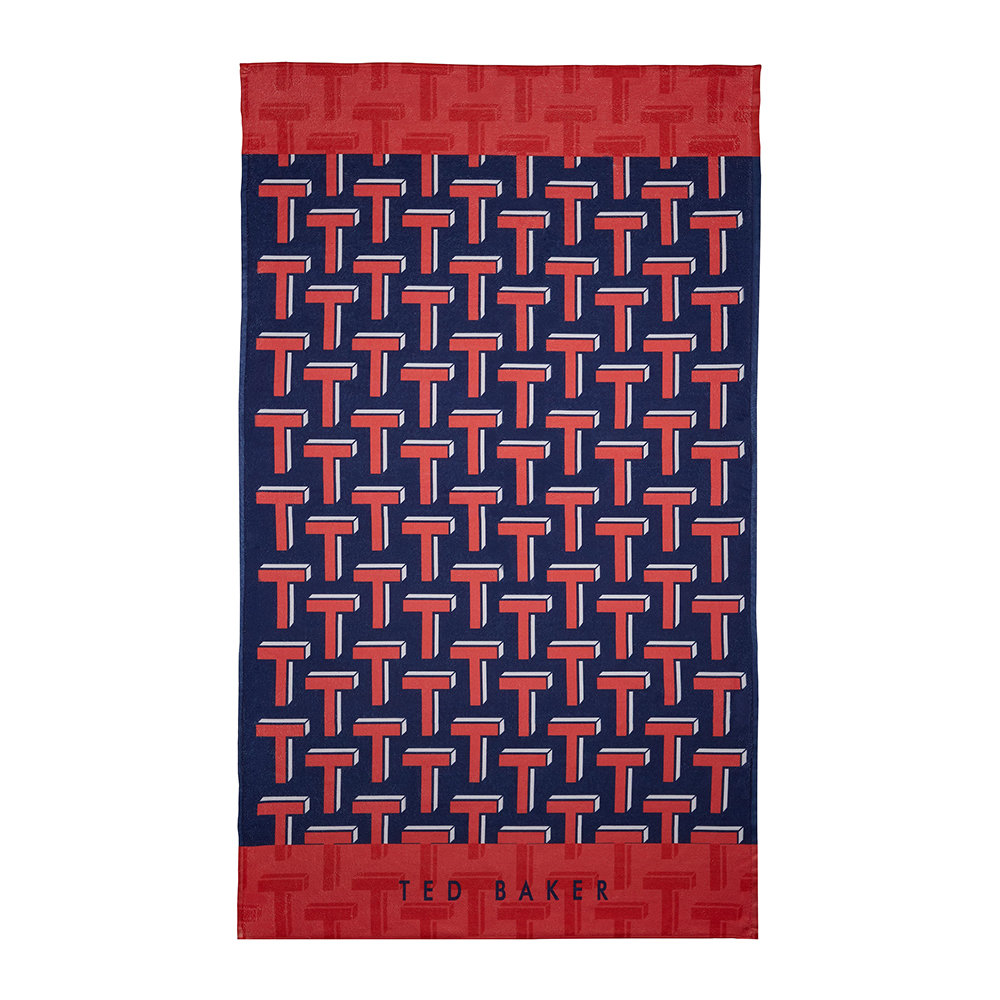c0959d914f2 Buy Ted Baker Ted T Beach Towel - Red | Amara