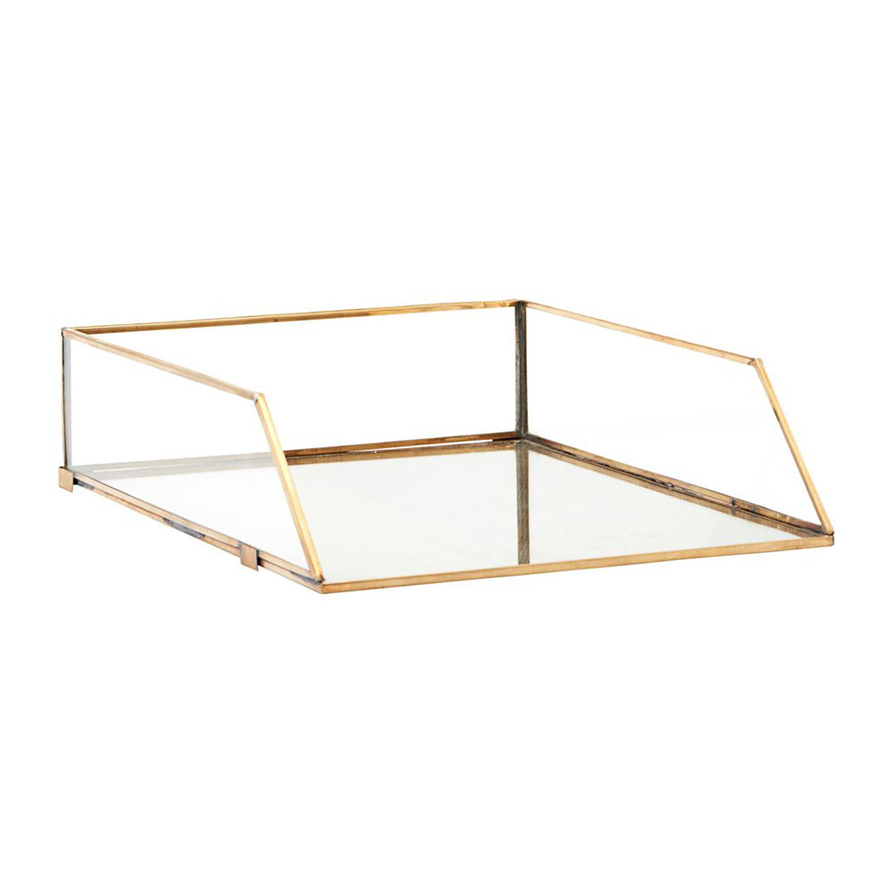 Monograph - Brass Letter Tray