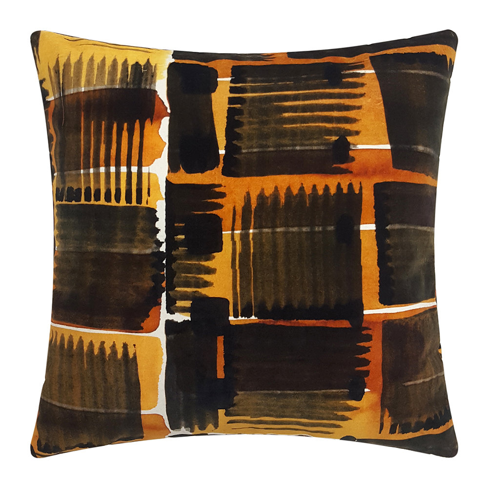 One Nine Eight Five - Abstract Check Cushion - 50x50cm
