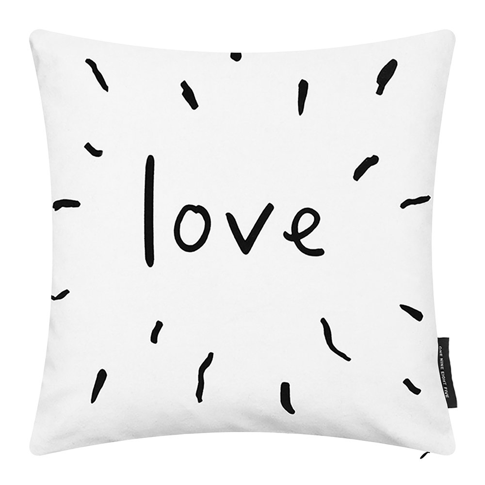 One Nine Eight Five - Love Cushion - 40x40cm