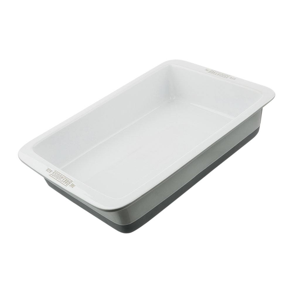 The Bakehouse & Co - Ceramic Rectangular Roaster - 37cm