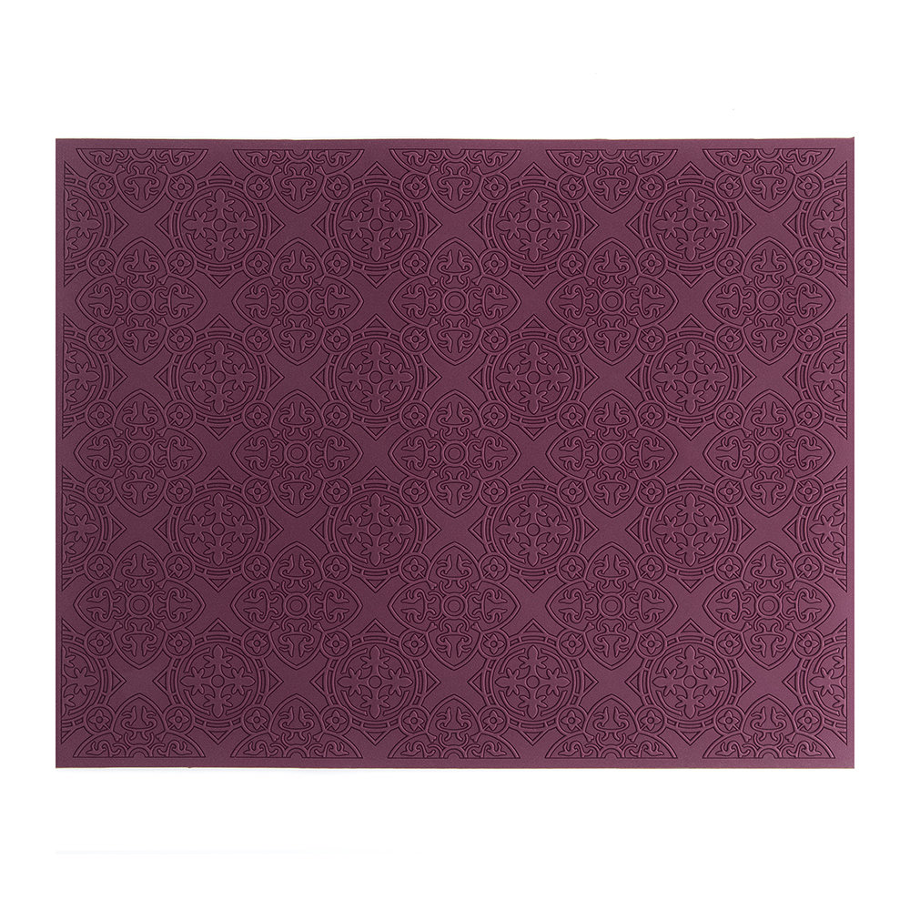 Images d'Orient - Rectangular Urban 01 Placemat - Prune