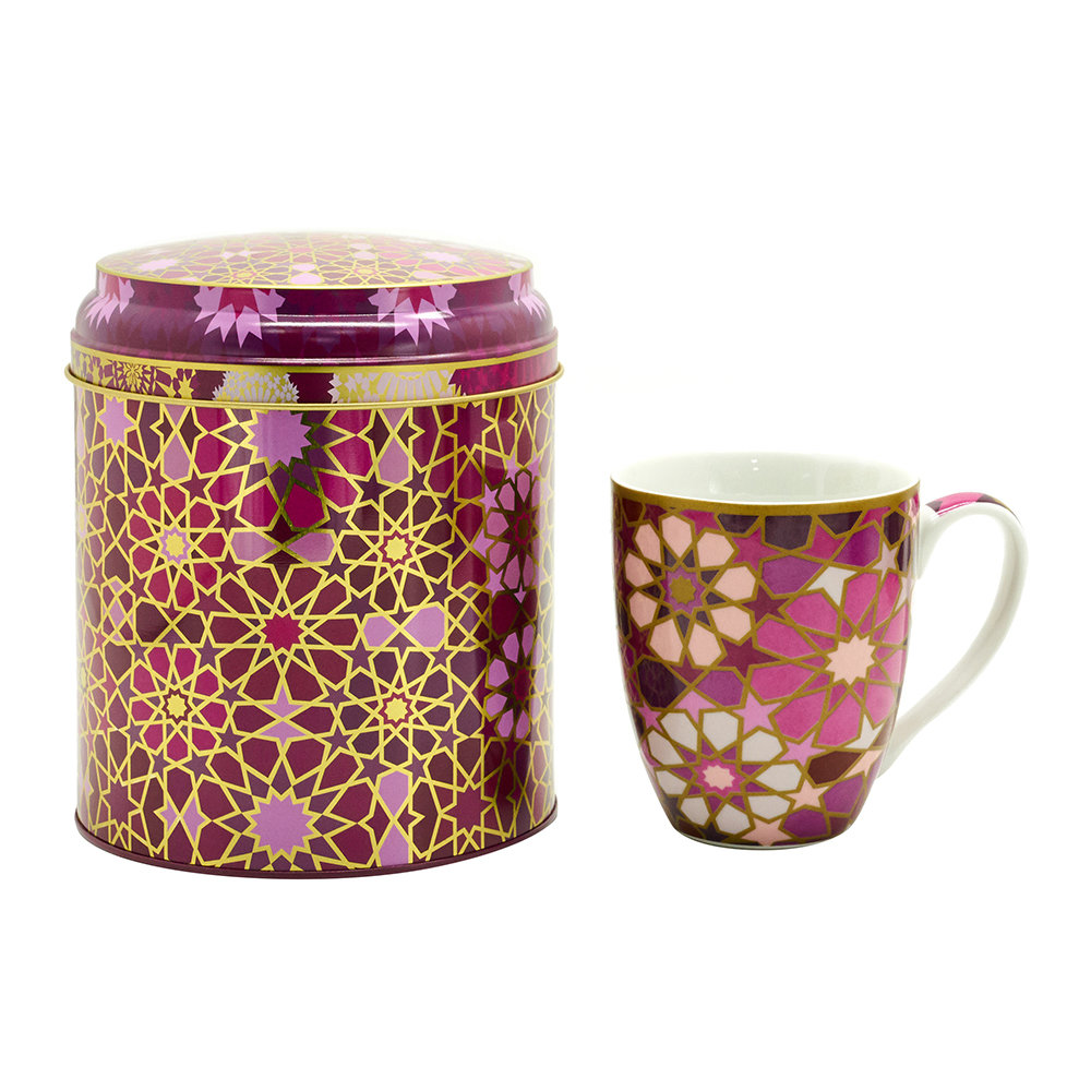 Images d'Orient - Mug Box Set - Moucharabieh Parme