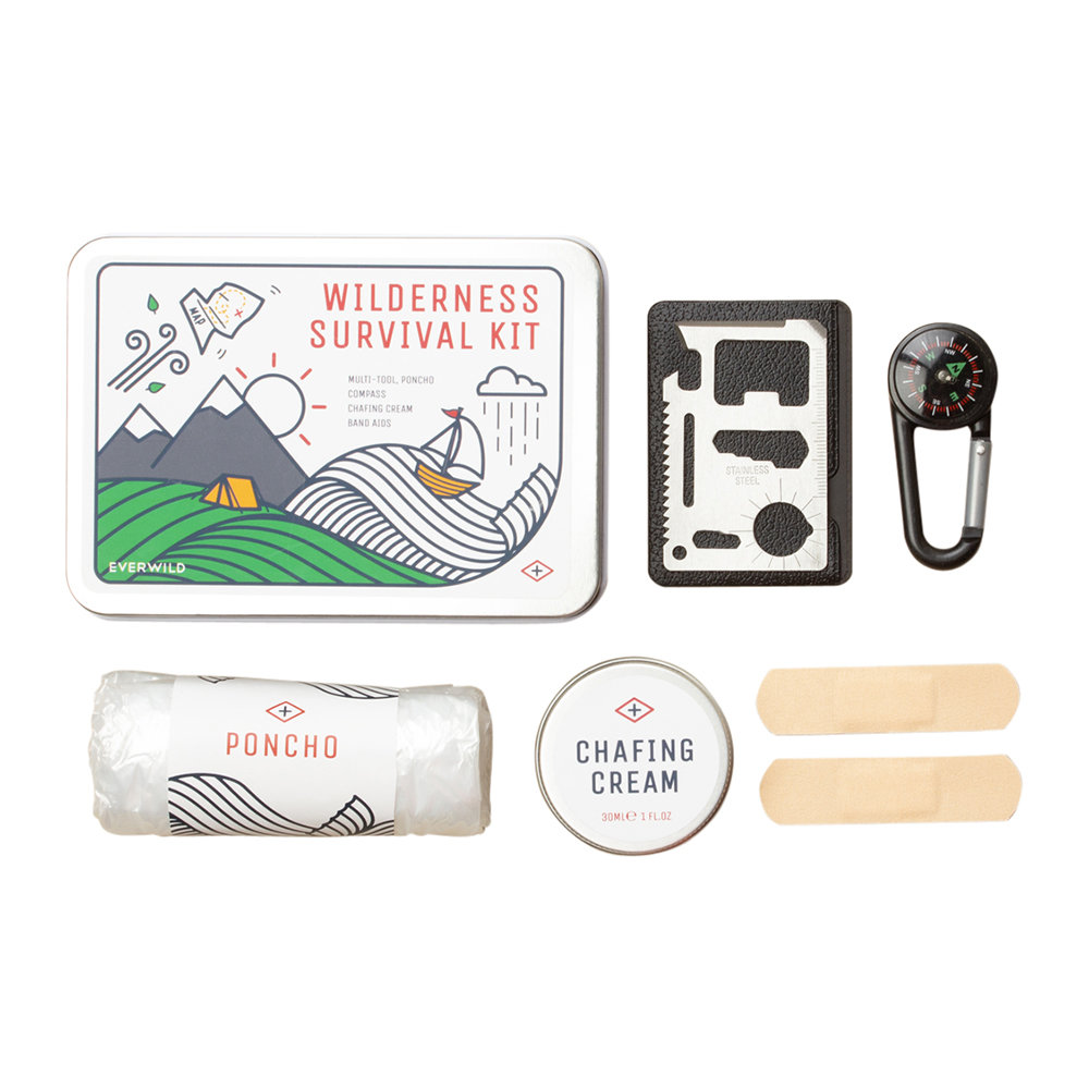 Men's Society - Wilderness Survival Kit