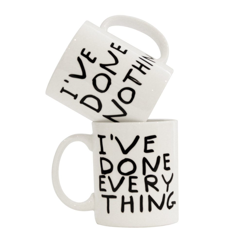 Third Drawer Down - David Shrigley I've Done Everything Mug