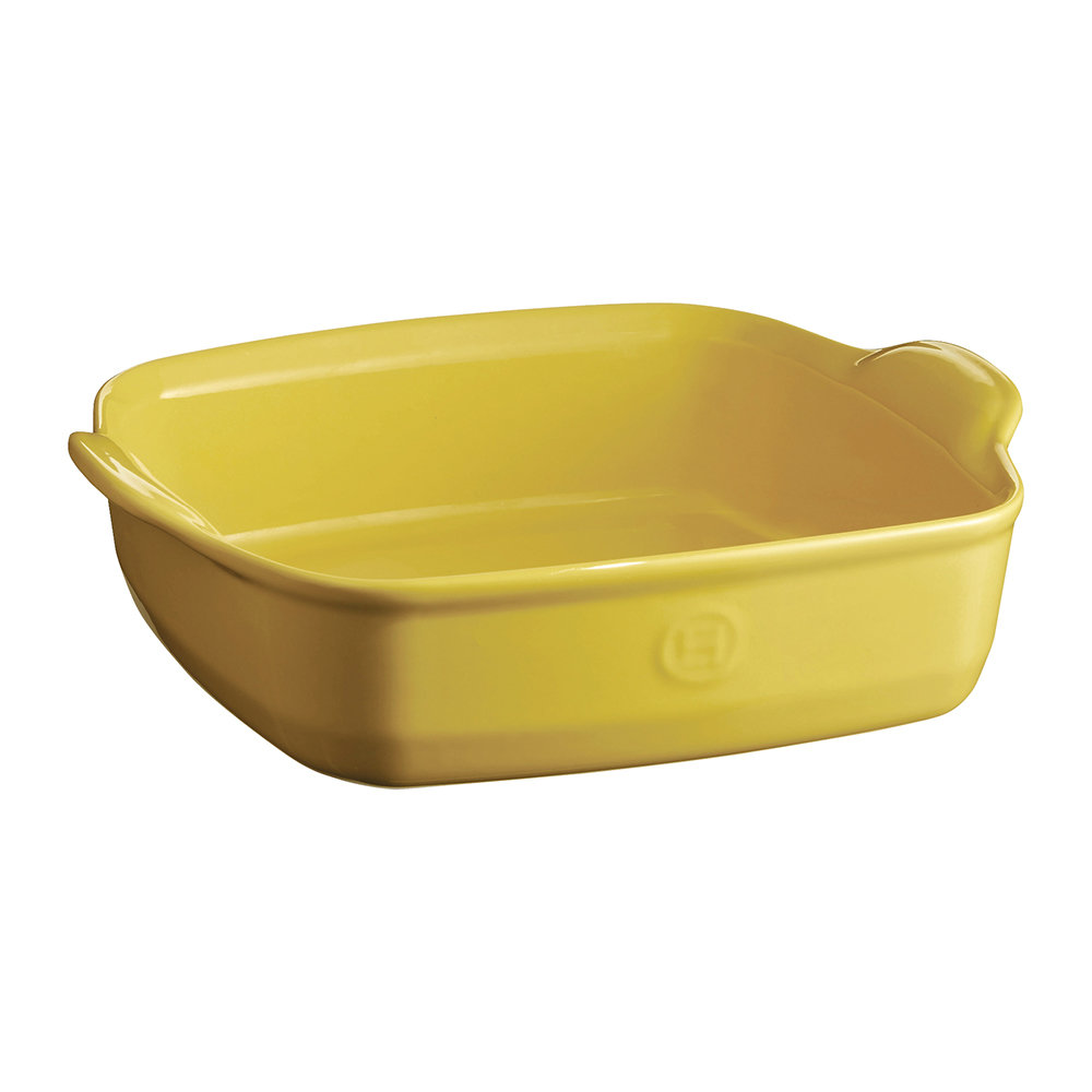 Emile Henry - Ultime Square Baking Dish - Yellow