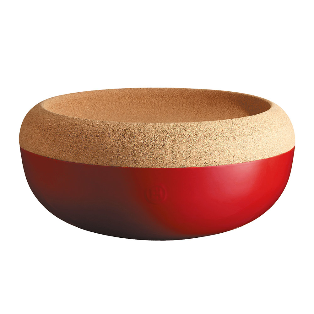 Emile Henry - Two Part Fruit & Vegetable Storage Bowl - Red