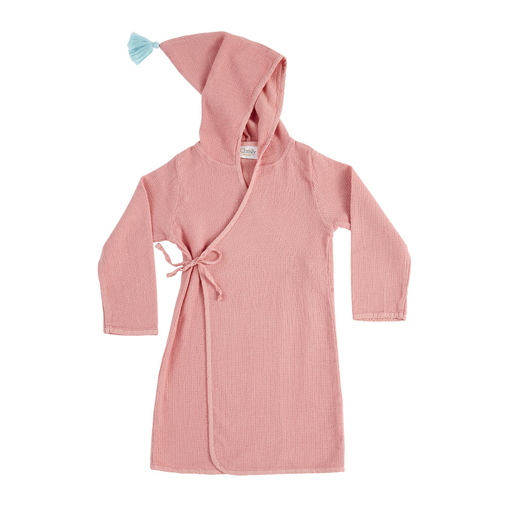 Christy - Acorn Robe - Soft Coral