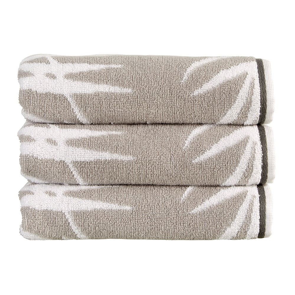 Christy - Bamboo Towel - Silver - Bath