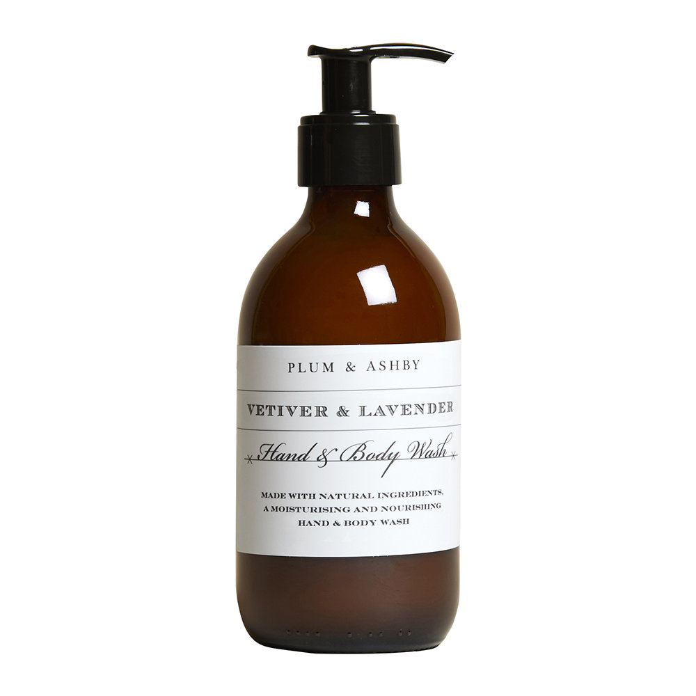 Plum  Ashby - Hand and Body Wash - 300ml - Vetiver  Lavender